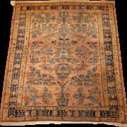 REDUCED Persian handmade Lilian Oriental Rug , Hamadan Weaving Region, circa 1920 , 6 x 5.2