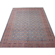 SALE Persian Tabriz Handmade Carpet , Oriental Rug circa 1930 , 10.6 x 8.3