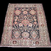 Antique Malayer Oriental Rug , Western Persia , Squarish Format circa 1910 , 6.9 x 5.5