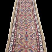 Serab Runner Oriental Rug, Northwest Persia , Azerbaijan Province , Last Quarter 19th Century