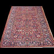 Heriz Carpet , Oriental Rug , Azerbaijan Province , NW Persia circa 1920 , 10.11 x 8.4