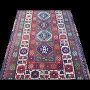 Kazak Long Rug,Western Caucasus,last Quarter 19th Century , 8.11 x 4.3