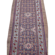 Antique Hamedan or Serab Camel Hair Runner Rug, Northwest Persia , last Quarter Of 19th Centur