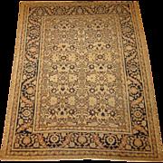 Antique authentic Persian Hadji Jalili Tabriz Oriental Rug,Azerbaijan Province,Northwest Persi