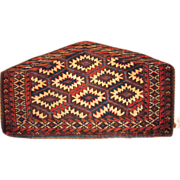 REDUCED Antique Yomud Asmalyk Rug ,Turkmenistan, 2.8 x 1.6