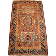 SALE Antique Heriz Oriental Rug , Azerbaijan Province , Northwest Persia , 1st Quarter 20th ..