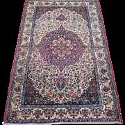 SALE Persian handmade Kerman Oriental Rug circa 1920 , 7.3 x 4.7