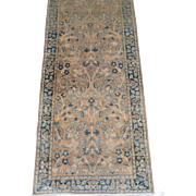 Persian Kerman Lavar Runner , Oriental Rug , S.E. Persia , Kerman province circa 1920's , 14 .