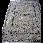 Antique Meshed Dorokhsh Oriental Rug Carpet , Khorassan , Northeast Persia circa 1910 , 10.5 x