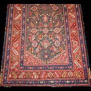 Northwest Persian Runner,Azerbaijan Province,Heriz Area,Late 19th Century, 14.5 x 3.4
