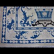 Peking,probably Fette,Chinese Rug circa 1920 , 4.10 x 3.6