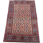 Sarouk Ferahan Oriental Rug circa 1910 , 5 x 3.3