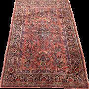 Persian handmade Sarouk circa 1920 , 8 x 5.2