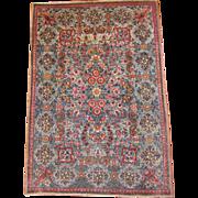 Antique Persian lavar mat circa 1910 , 2.11 x 2