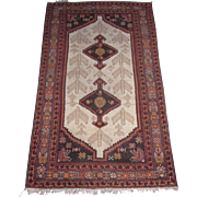 Antique Malayer Village Oriental Rug , West Persia , Early 20th Century , 5.11 x 3.6