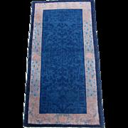 Peking Chinese Oriental Rug,Northeast China 1920's , 5.9 x 3