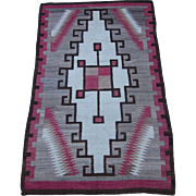 Navajo Rug , American Southwest , 1st Quarter of 20th Century , 5.10 x 3.8