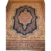 Kerman Carpet,Southeast Iran circa 1940 , 11.6 x 9