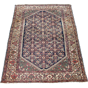 Antique Malayer Oriental Rug,Greater Hamadan Weaving Region,Western Persia circa 1900 , 6.6 x
