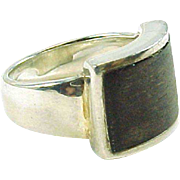 LALAOUNIS Wood Sterling Silver Ring