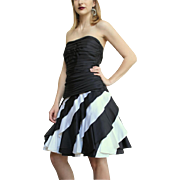 ****SPRING 2016 CLOSET CLEANOUT SALE ITEM*****TOTALLY AWESOME Vintage 80s TADASHI Black/White