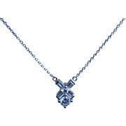 SALE Fresh in from Europe, a Stunning Top of the Line 14 Karat White Gold ...