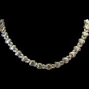 SALE Rare Retired Chain of Hearts Collection Elsa Peretti Tiffany Designer Closed Heart ...