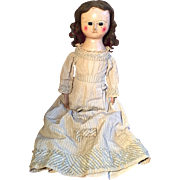 SOLD A large 18th Century wooden doll