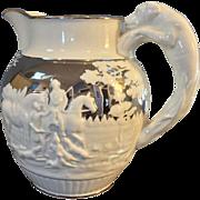 1800 Original Wedgwood Silver Lustre Pitcher