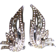 Hattie Carnegie Rhinestone Earrings
