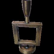 Art Deco all Brass Table/Night Lamp