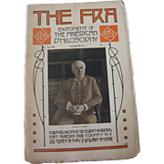 The 1911 FRA Roycroft Magazine