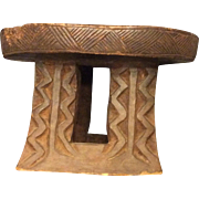 SOLD African Tribal Stool, c. 1910