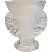 Lalique St Cloud Vase, Mint Condition