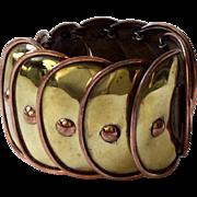 Hector Aguilar Design Armadillo Bracelet by Casa Maya, c. 1950s