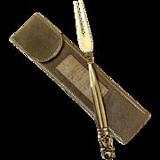 Georg Jensen Acorn Sterling Silver Serving Fork