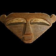 SOLD African Mask, Vintage