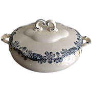 French Ironstone Soup Tureen with Cover