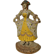 Hubley Cast Iron Woman Doorstop