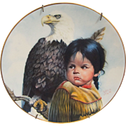 '' First issue in '' Pride Of America's Indians ''  '' Brave & Free '' By Perillo '' 1985