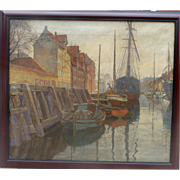 """Haven, 1923, 21x29"""" (image only)"""
