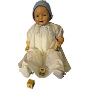 1920's E.I.H. Co. Inc. Baby Dimples Doll 24 inches Jointed
