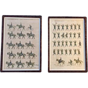 "Pair of ""Jean Auge"" Military Prints Depicting ""L'Armee Francaise D'Aout 1914"""