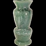 """Large 16""""  Brush McCoy Pottery Art Deco Style Vase 178 Chip"""