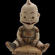 Rare 1904 Bisque Baby Snookums figurine