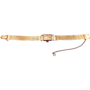 REDUCED Ladies 14 karat Geneva Wrist Watch