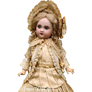 """Antique French 16"""" (41cm) Jumeau 1907 Precious sweet and lovely! Perfect Condition and ..."""