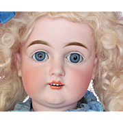 "24"" German Dolly Kestner Mold 129  marked body, sleep blue eyes. Layaway! Just a Dream!"