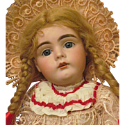 "Kestner 161 Doll Rare to find! Sleep blue eyes, 18 ½"" in original Kestner body ..."