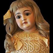 """26"""" Kestner Doll 146 with sleep brown eyes and her original stamped body!"""